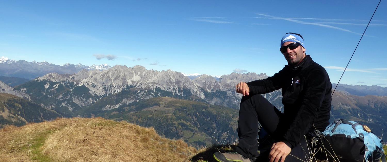Wanderführer Andreas in den Karnischen Alpen